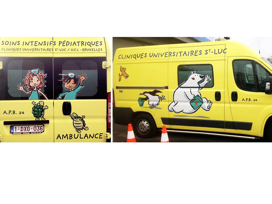 UCL-ambulance