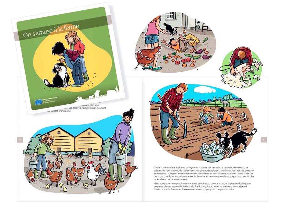 EUAGR08A-0910 – Brochure for Children-FARMS ARE FUN-V07.indd